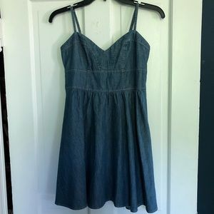 Adorable Express denim dress, XS